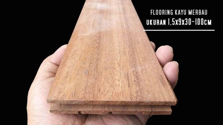 lantai kayu merbau harga