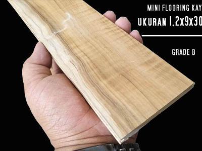 lantai kayu jati flooring