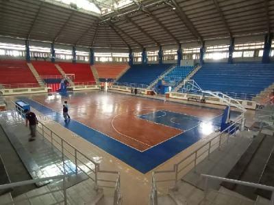 lantai kayu lapang basket