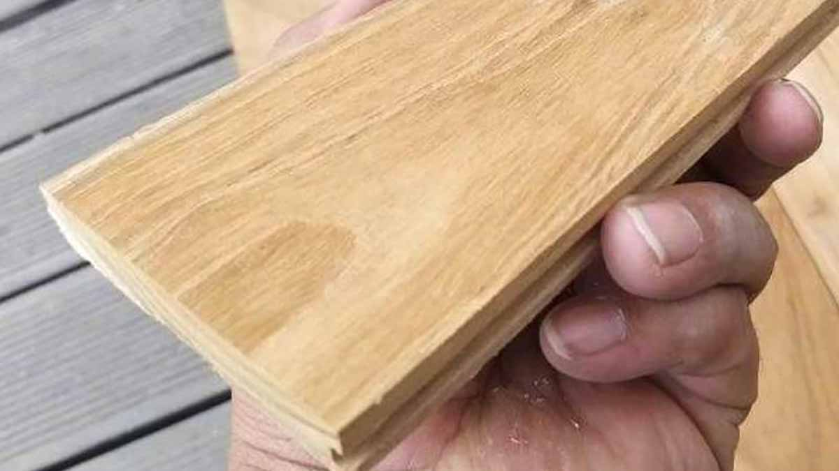 Harga Lantai Kayu Mini Flooring Kayu Jati Grade A